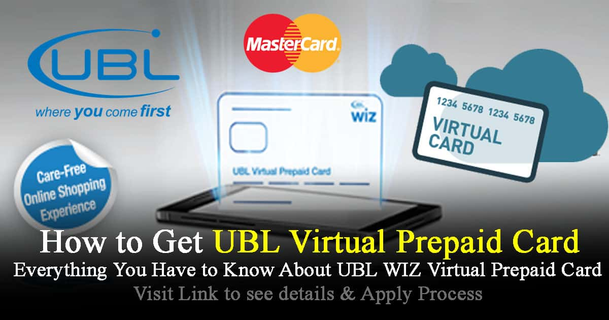 ubl wiz virtual prepaid card powered by mastercard - Online Prepaid Card