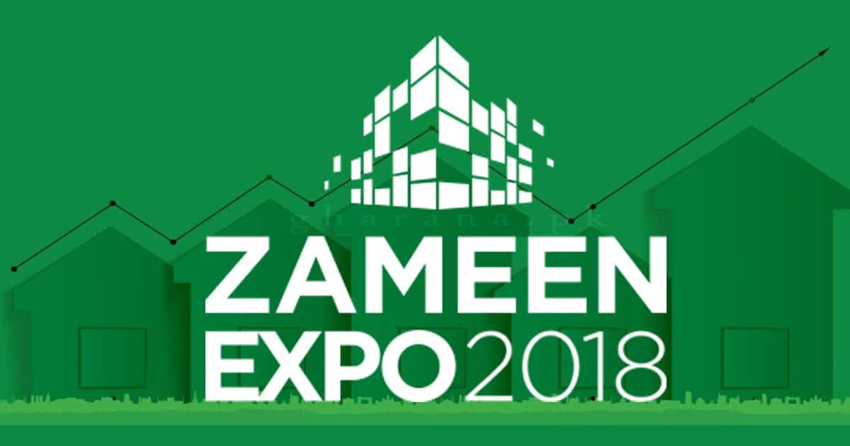 Zameen com Property Expo 2018 Karachi 6 & 7 January at Expo Center